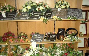 Begrafenisonderming Vendrickx - Grafversiering